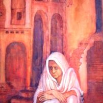 TULIREKHA-WATER-COLOUR-TEMPARA-1992