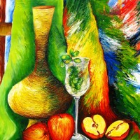 tulirekha_still-life-with-apples-mixed-media-200x200